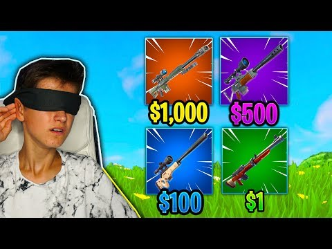 IMPOSSIBLE GUESS THE GUN SOUND CHALLENGE in Fortnite Battle Royale
