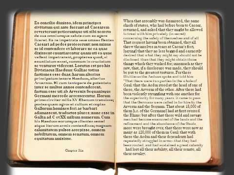 Caesar - De bello Gallico / Liber I