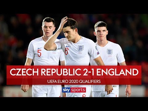 Sloppy England punished in Prague   Czech Republic 2-1 England   UEFA Euro 2020 Qualifiers