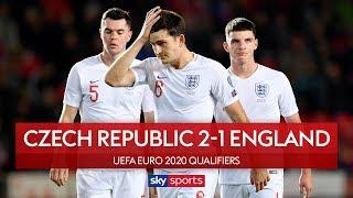 Sloppy England punished in Prague | Czech Republic 2-1 England | UEFA Euro 2020 Qualifiers