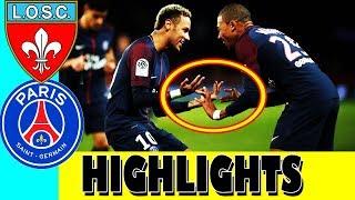 PSG vs Lille losc Highlights Extended