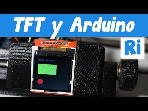 Guía uso PANTALLA TFT en Arduino