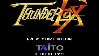 Mega Drive Longplay [374] Thunder Fox