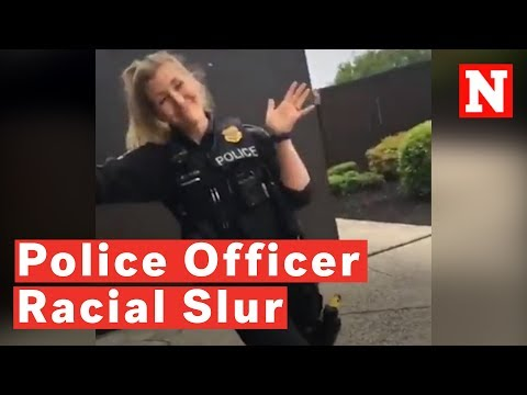 Crystal Rosas - White Female Cop Uses the N-Word to a Black Civilian