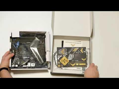 Материнская плата Asus TUF Gaming B550M-Plus (sAM4, AMD B550, PCI-Ex16)