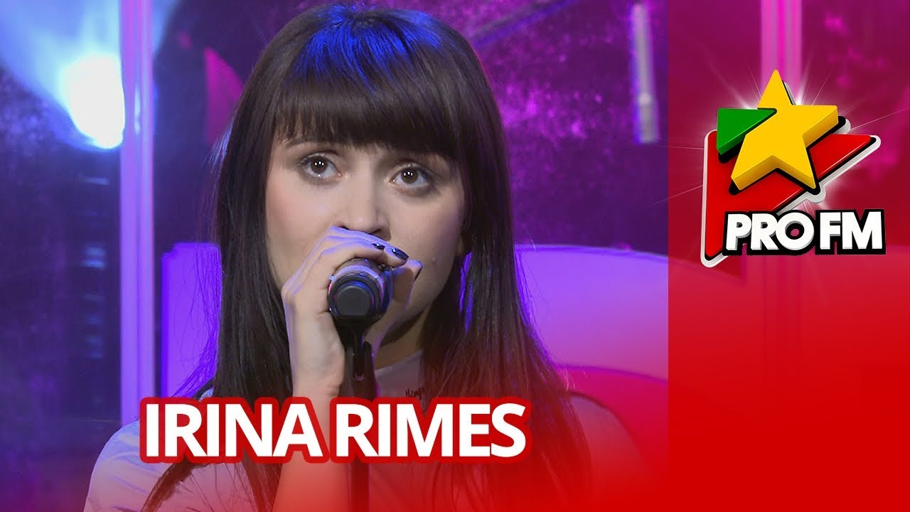 Irina Rimes  - Octombrie Rosu   PREMIERA ProFM LIVE Session