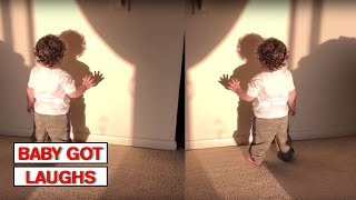 Babies Playing With Shadows! | Silly Baby Compilation