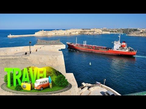 Valletta #Malta ① ✈ HD 1080p