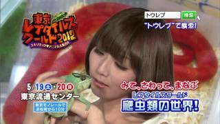 東京レプタイルズワールド2012年TVCMです 是非お越しください!