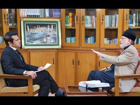 Dr. Tahir-ul-Qadri's Interview | Anchor Imran Khan | Takrar Express News | 15th AUGUST 2016