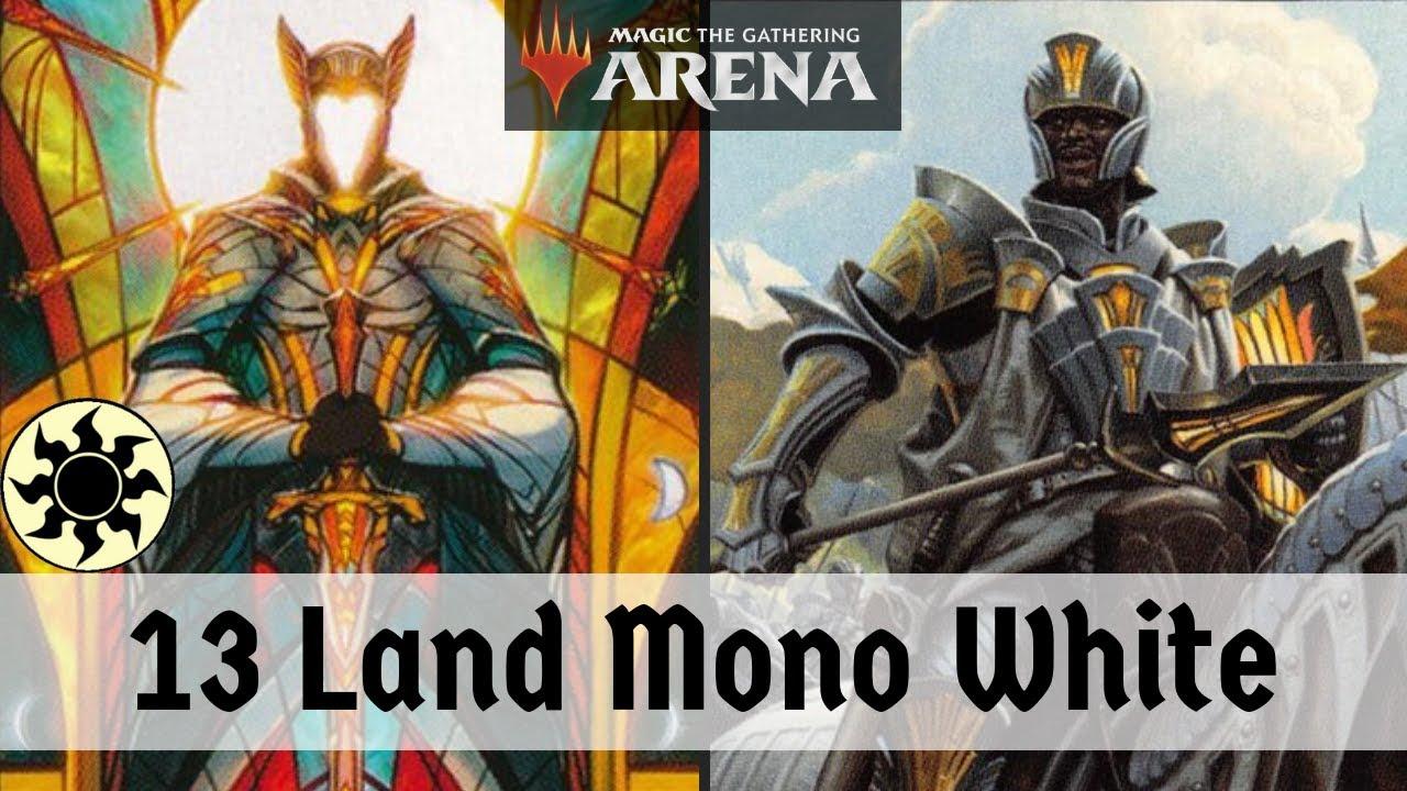 13 LAND DECK!! Mono White Mayhem 13 Land Deck   MTG Arena   Deck Of The Day