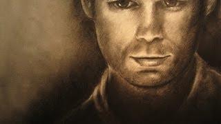 Speed Drawing of Dexter Morgan - Michael C. Hall