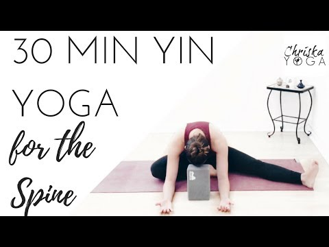 Yin Yoga | 30 Minute Yoga Routine | Yoga for Back Pain | Spine Health