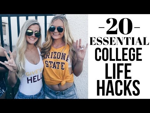 College Life Hacks You NEED To Know! | Sydney Joz