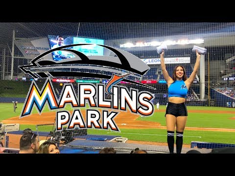 Going To A Game At Marlins Park (Miami Marlins Stadium) Tour And Review
