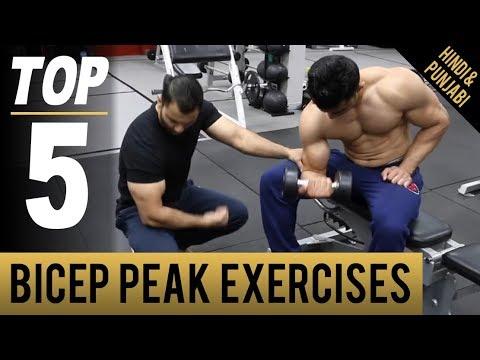 how to build bicep peak