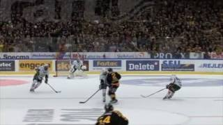 SHL 13/14 - Milan Gulas hits Erik Andersson