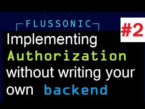 Flussonic : set up token script (part 2 of 2)