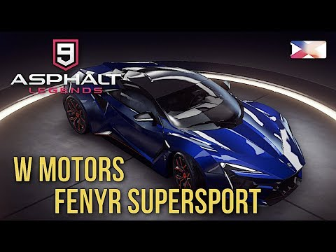 ASPHALT 9: LEGENDS – W Motors Fenyr Supersport Unlocked Gameplay