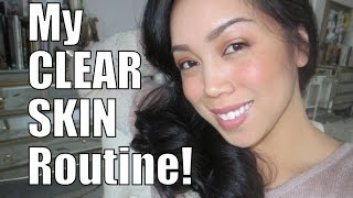 My Clear Skin Routine and Holy Grail Skincare Products - itsjudytime