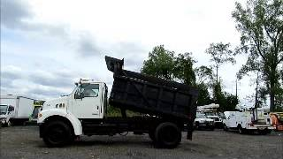 Sold! Sterling L7501 S/A 5-Yard Dump Truck Snow Plow Cat 3126 bidadoo.com