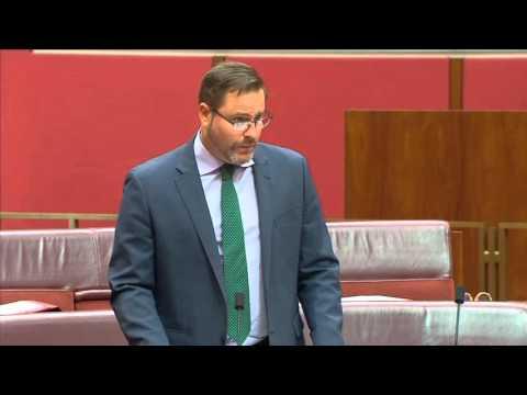 Senator Peter Whish-Wilson on the China-Australia Free Trade Agreement #CHAFTA