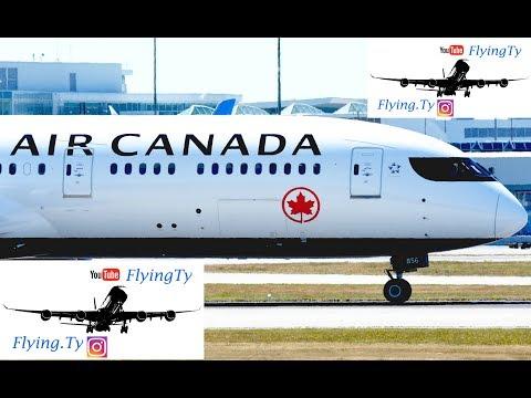 Air Canada Signature Service 787-9 | Business class | EWR-YVR Boeing 787-9 Dreamliner