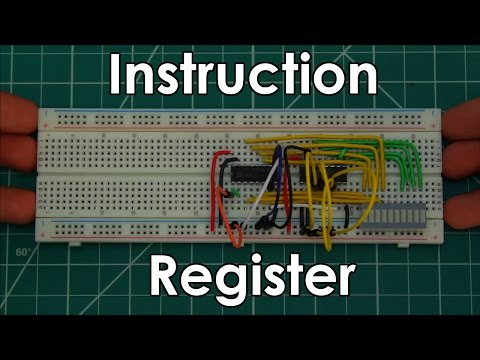 Instruction Register | 8 Bit CPU