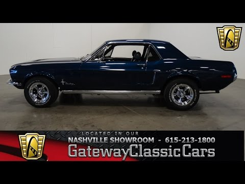 1968 Ford Mustang Coupe,Gateway Classic Cars-Nashville#389