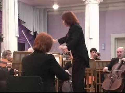 Rimma Sushanskaya conducting Beethoven, Prometheus Overture