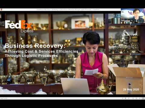 [SCCCI Webinar] Achieving Cost & Services Efficiencies Through Logistic Processes