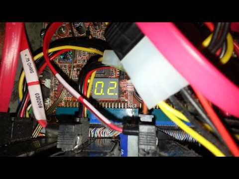 Abit AV8 Motherboard Error Code