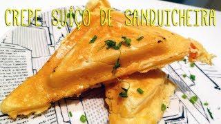 Cozinha Rápida – Crepe Suíço de Sanduicheira