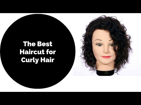 How to Haircut for Curly Hair 2018