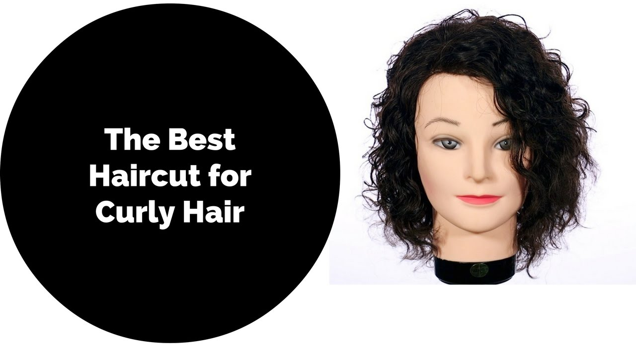 How To Haircut For Curly Hair Thesalonguy Youtube