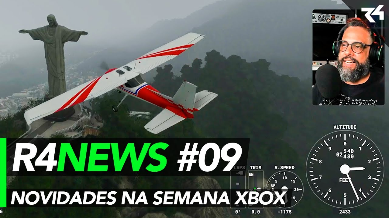 Microsoft Flight Simulator e Games With Gold de Agosto - R4NEWS N09