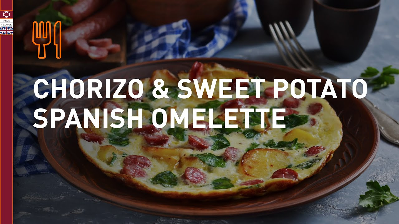 Menu of the Week | Chorizo & sweet potato Spanish omelette
