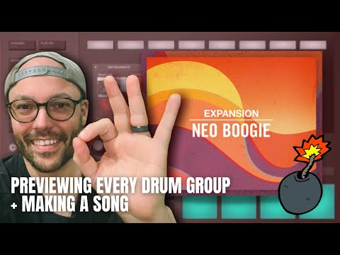 Maschine | Making a song with Neo Boogie Expansion | How to Load to Akai Force/MPC