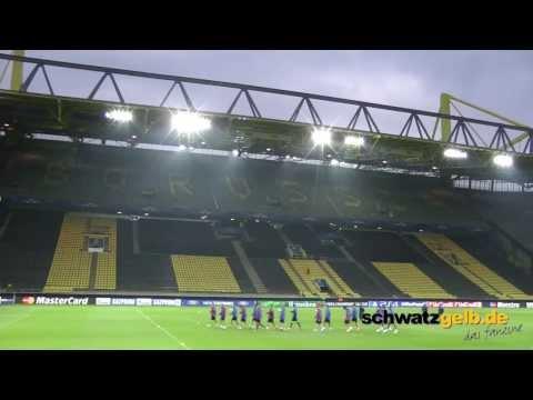 BVB - Zenit St. Petersburg FC Abschlusstraining Champions League Borussia Dortmund