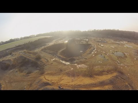 1 Quad, 1 Quarry, 1 Man, 1 Crap landing!