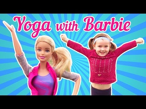Yoga with Barbie. Girls Games & videos for kids.