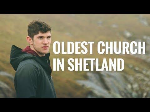Oldest Church in Shetland - Scottish Kirk & Coastal Walk