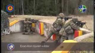 EU Battlegroup:  Belgian Medical Evac Training