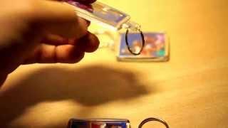 Брелок для ключей с фотографией.(Заказал в магазине http://www.photobox.co.uk/ брелки с фотографией. Заказ на 3 брелка стоимость 3 фунта стерлингов. ..., 2014-10-24T11:21:10.000Z)