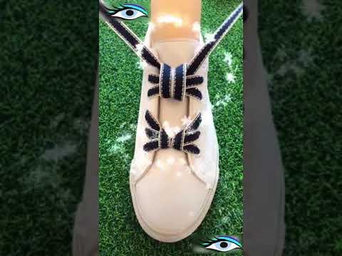 Как красиво зашнуровать кроссовки(кеды)