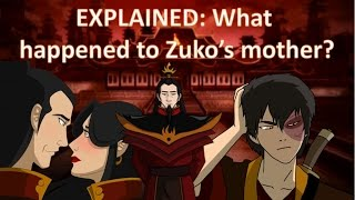 Video EXPLAINED: What happened to Zuko's mother? (Avatar, the Last Airbender) download MP3, 3GP, MP4, WEBM, AVI, FLV Agustus 2017