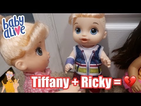 Baby Alive Ricky Tries to Win Back Tiffany | Kelli Maple