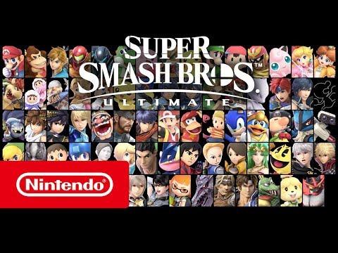 Super Smash Bros. Ultimate - Trailer De Apresentação (Nintendo Switch)