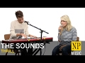 The Sounds perform a stripped down version of 'Thrill'