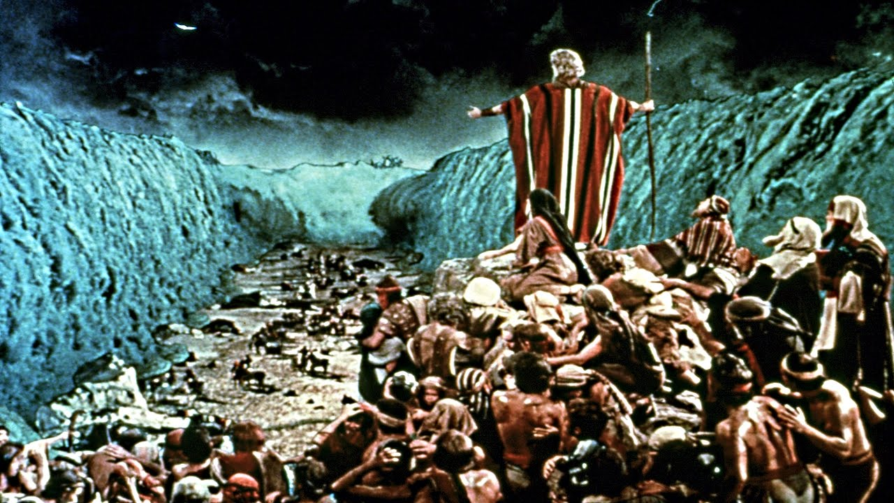 Memes I Missed 17: Object Labeling with Classic Film ...  Moses The Movie Youtube